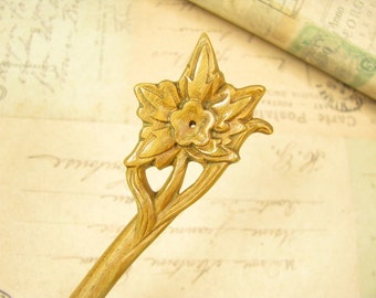 Verawood Hair Stick - Maple Leaf