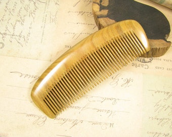 Natural Verawood Anti Static Healthy Hair Care Comb Teasing Styling