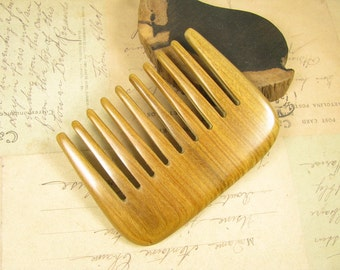 Fragrant Verawood Wide Teeth  Massage Hair Comb