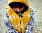 Hooded Pixie Vest - PDF Pattern - NB to size 10