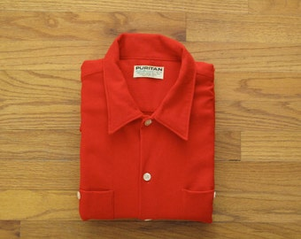 mens vintage Puritan work shirt