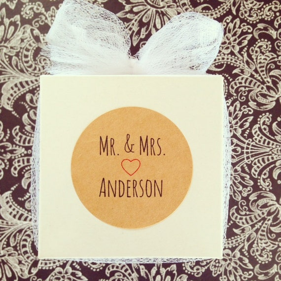 Wedding Gift Box Stickers : wedding favor boxes with kraft stickers, custom wedding gift boxes ...