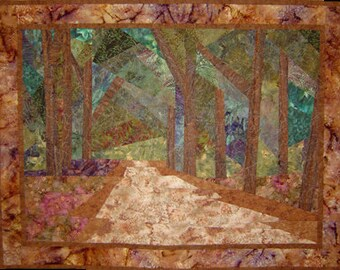 Canopy Road Wall Art Quilt