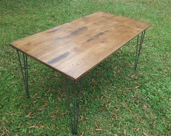 Reclaimed wood table Etsy