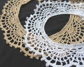 Crochet Shell Collar Necklace PDF Pattern