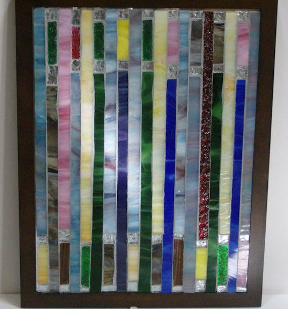 Stained glass mosaic Wall Decor Wall Hanging