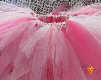 3 tone pink and white tutu