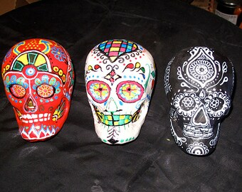 Day of the Dead Gift Skulls