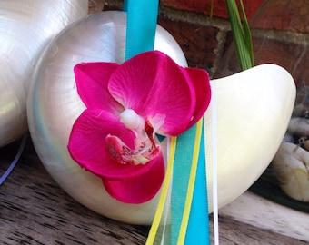 Pearl Nautilus Shell Flower Girl Basket, Beach Flower Girl Basket,
