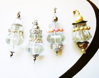 Glass Glam Ceiling Fan/ Light Pull, Dangle Only, unique fan pulls, The Dangle Collection