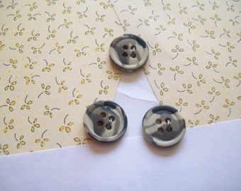 Camoflauge buttons 15 mm