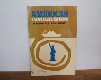 American Immigration by Maldwyn Allen Jones