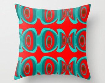 Modern Pillow, Mid Century Modern Throw Pillow, Modern Pillow, Modern Throw Pillow, Geometric Pillow, Modern Cushion,  Retro Throw Pillow