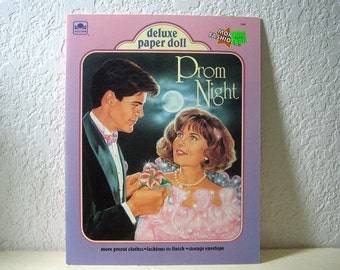 Deluxe Paper Doll, PROM NIGHT, booklet, Unpunched, 1991