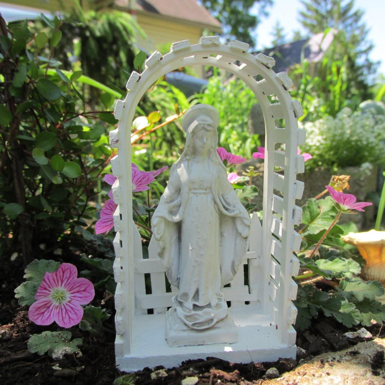 Fairy Garden Accessories Miniature Garden Madonna Mary