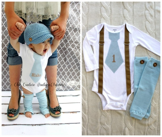 Items Similar To Baby Boy 1st First Birthday Onesie Outfit