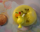 Sale--kawaii flexible silicone mold for cocktail cabochons  151--USA seller