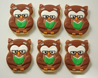 Wise old Owl cookies