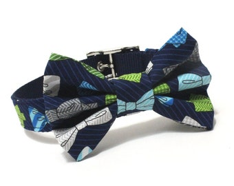 The Gentleman BowTie Dog Collar