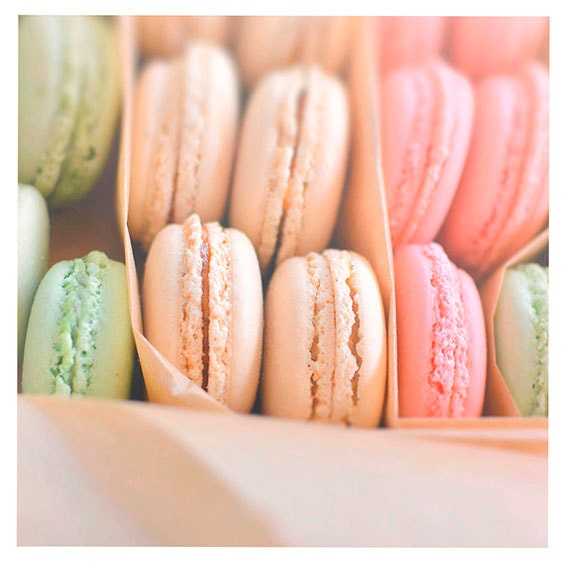Sale, You're So Sweet, 8x8 Paris Photography, Macaroons, Nursery, Teen, Kitchen, French Country, Pastels, Home Decor, Spring, Summer, Print