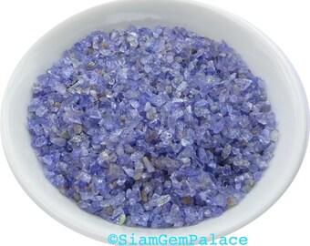 Tanzanite Grab Bag. BLAcK FRiDAY CyBer MoNday. Beautiful Blue  Rough Super Color. 1000 pc. 1.5 -3.5 mm. 30 grams. (TZ135)