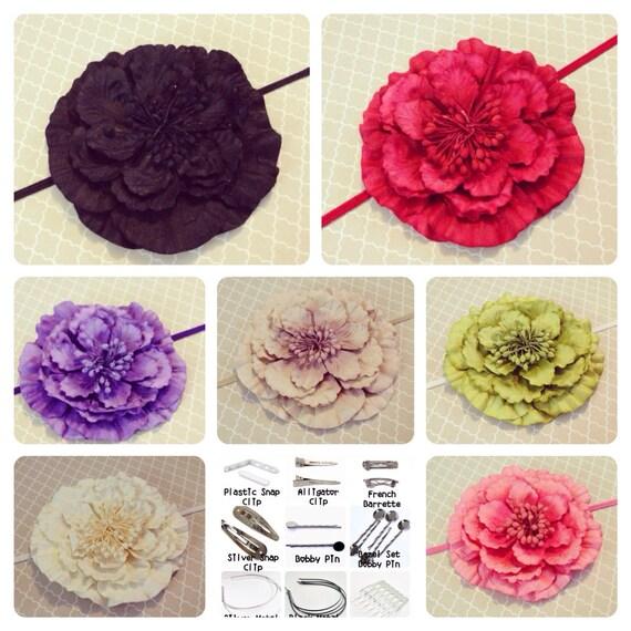 Sale 60 % OFF: Flower Headband, Newborn Headband, Child Headband, Baby Headband, Photography Prop