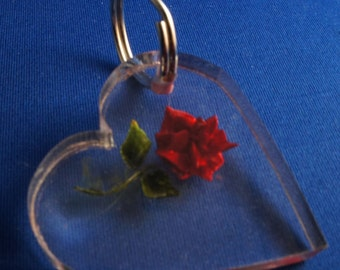 Custom heart keychain, hand carved in thick acrylic, choose a design, color and your own words to make it truly personalized, SHIPPED FREE