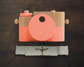 Poppy Pixie - Wooden Toy Camera