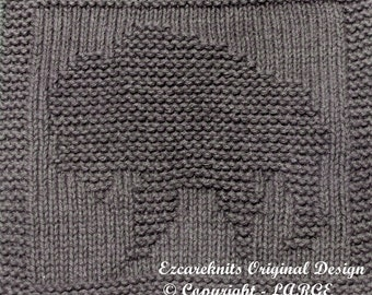 Knitting Cloth Pattern - BUFFALO - Instant Download - PDF