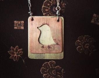 Layered Bird Necklace
