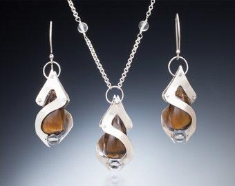 Double Helix Necklace