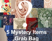 MYSTERY GRAB BAG Sale - 5 Mystery Items of your size Great as Gifts! Women Fashion 2015 Spice up your day Usual Price Over 150 Dollars!