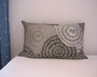 """Silk Lumbar Pillow Cover 15"""" x 27""""-Couch Pillow Cover-Living Room Pillow Cover"""