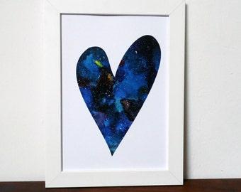 Universal Love Galaxy Print