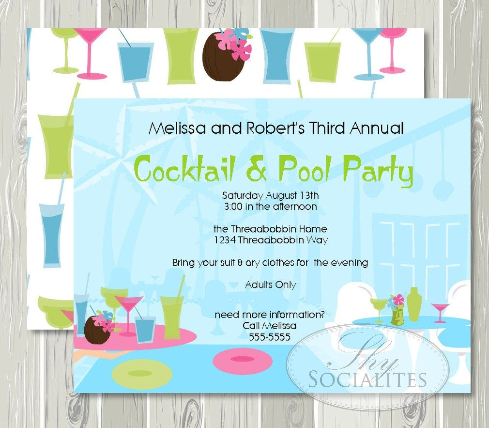 Free Printable Adult Pool Party Invitation – orderecigsjuice.info