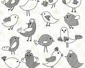 Doodle Birds Clip Art Clipart, Hand Drawn Birds Clipart Clip Art Vectors - Commercial and Personal Use