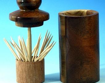 Wooden Toothpick Elevator/Server