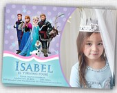 Frozen Invitation - PHOTO - PRINTABLE