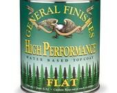 General Finishes High Performance Top Coat - Quart - FLAT