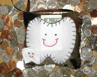 Camouflage Tooth Fairy Pillow -