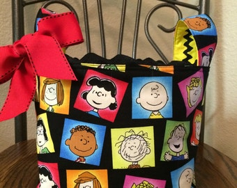 Charlie Brown and the Peanuts Gang Basket