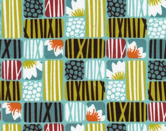 LOTUS in SKY - Organic Cotton by Cloud9 Fabrics - Across the Pond by Michelle Engel Bencsko - By the Yard