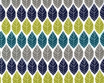 Leaf Press in Teal  DC6413 - RUSTIQUE by Emily Herrick  - Michael Miller Fabrics - By the Yard