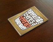 "Big Lebowski Magnet - The Big Lebowski Typography 2x3"" Magnet"