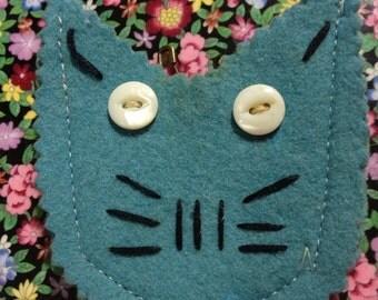 A Blue Kitty