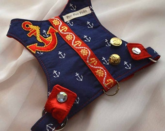Dog Harness - Anchors Away Harness Vest