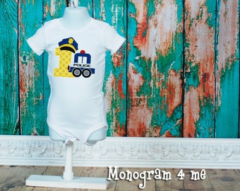 1st Birthday Police Officer Cop Shirt, Cops and Robbers Birthday, Police birthday