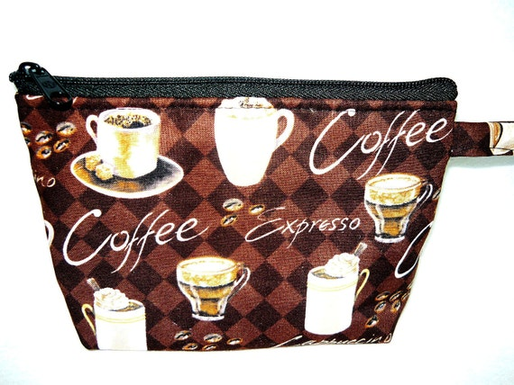 Coffee Lover Makeup Bag