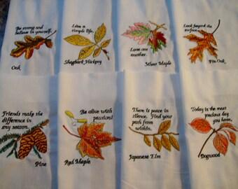 machine embroidered quilt blocks  inspirational quilt blocks embroidered fall leaves