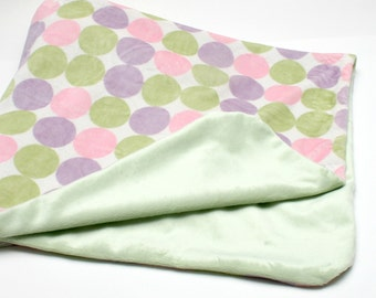 Lovely Baby Blanket in Pastels